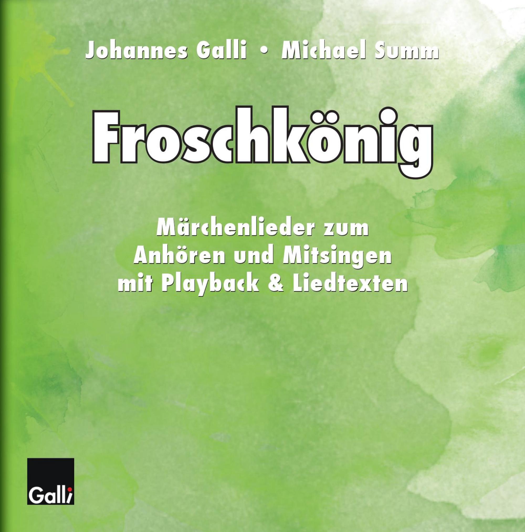 Froschkönig – CD-Cover